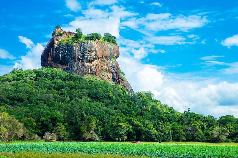 Sigiriya Rock near Kandy, Sri Lanka