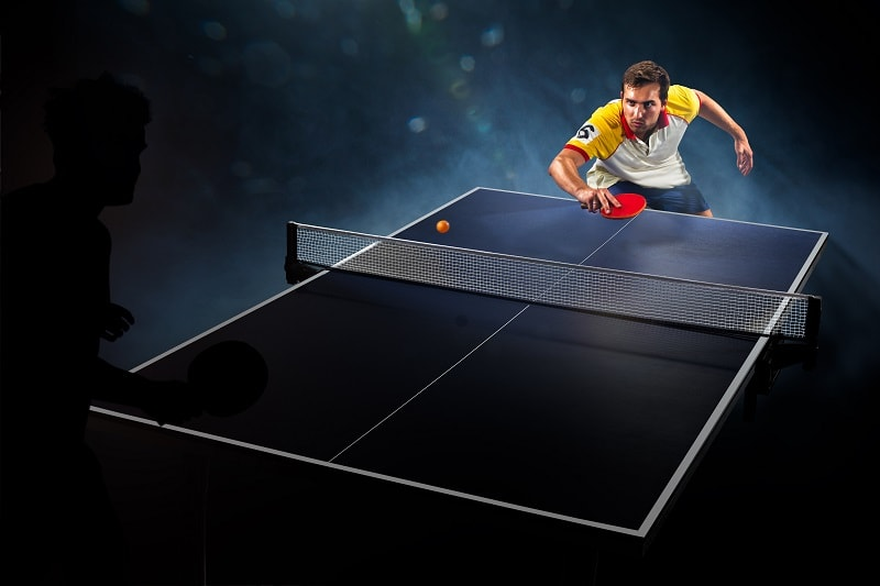 Table Tennis Player in China