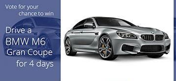 British Travel Awards BMW M6 Prize