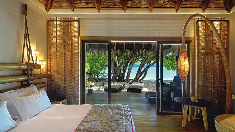Beach Villa - Luxury Holiday at Constance Moofushi Maldives | Just Fly Business