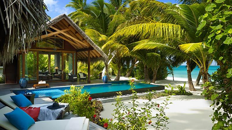 Beach Villa - Luxury Holiday at Shangri-La Villingili Resort | Just Fly Business
