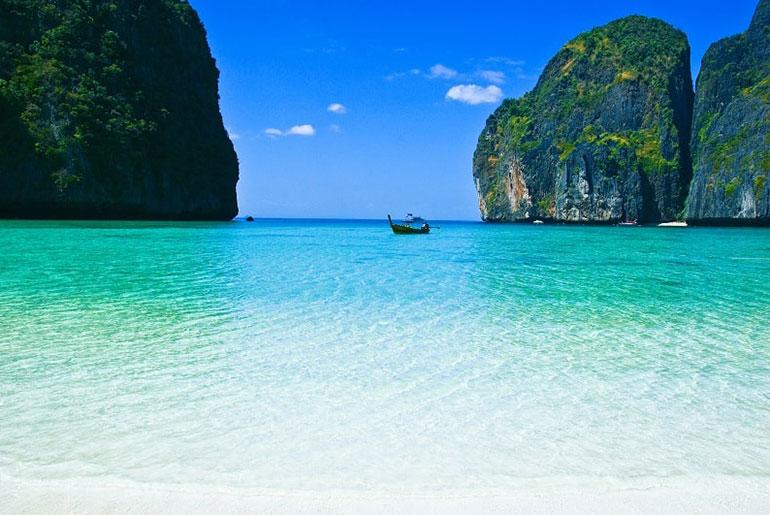 Maya Beach in Koh Phi Phi, Thailand
