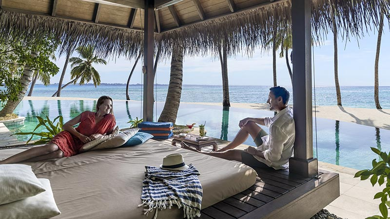 Cabana - Luxury Holiday at Shangri-La Villingili Resort Maldives - Just Fly Business