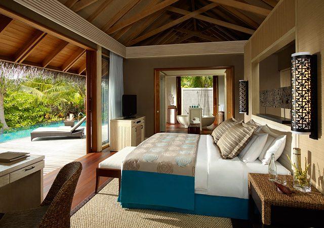 Duluxe pool villa view