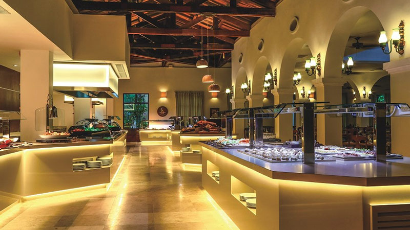 Restaurant - Luxury Holiday at Dreams Tulum Resort & Spa | Just Fly Business
