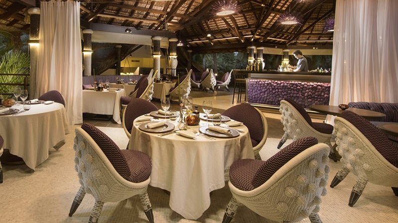 Diva Restaurant - Luxury Holiday at Constance Lemuria Seychelles - Just Fly Business