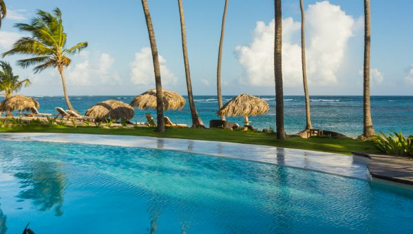 Exterior Pool at Zoetry Agua, Punta Cana