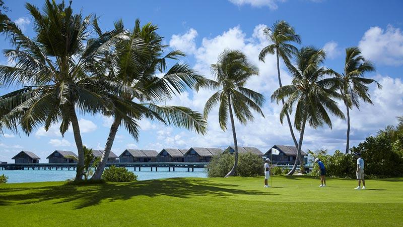 Golf Course - Luxury Holiday at Shangri-La Villingili Maldives - Just Fly Business