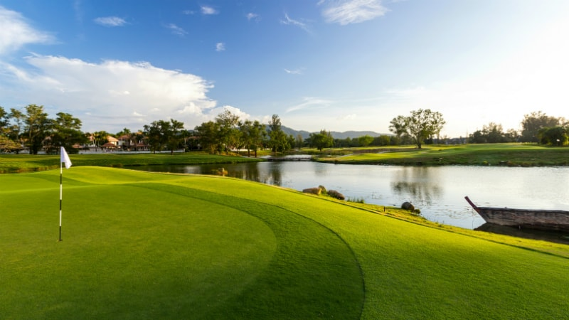 Laguna Golf Course near Banyan Tree, Phuket