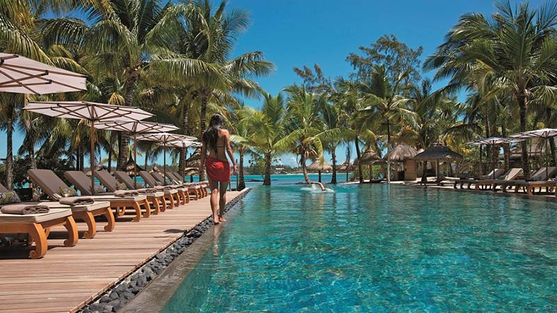 Lap Pool - Luxury Holiday at Constance Prince Maurice Mauritius - Just Fly Business