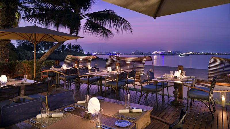 Beach Bar & Grill - Luxury Holiday at One&Only Royal Mirage | Just Fly Business