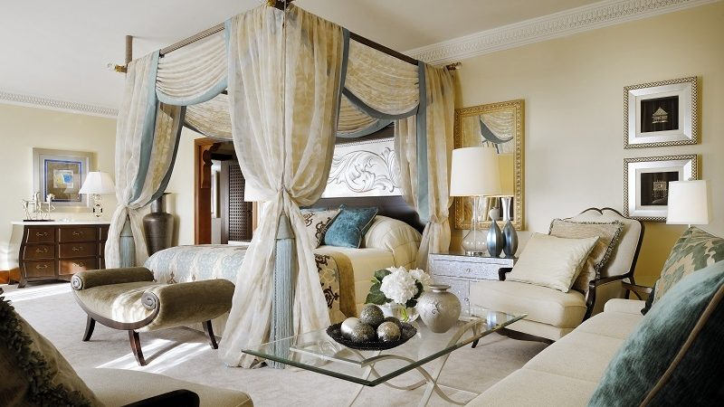 Royal Suite Master Bedroom - Luxury Holiday at One&Only Royal Mirage | Just Fly Business