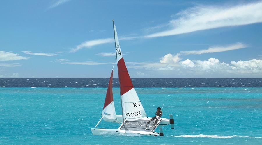 Hobbie Cat Sailing