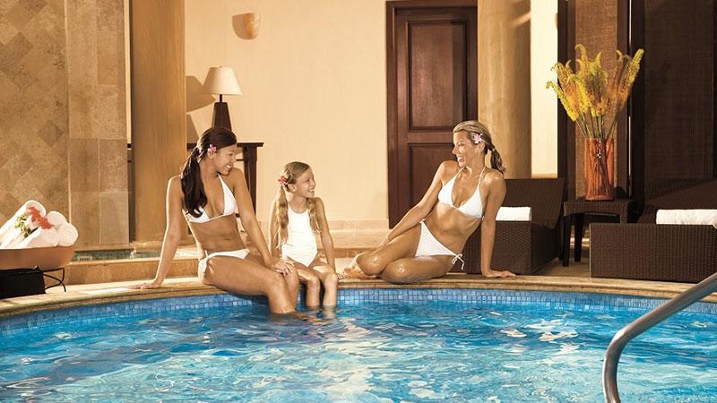 Spa Pool - Dreams Tulum Resort & Spa   Just Fly Business