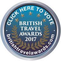British Travel Awards Nominee