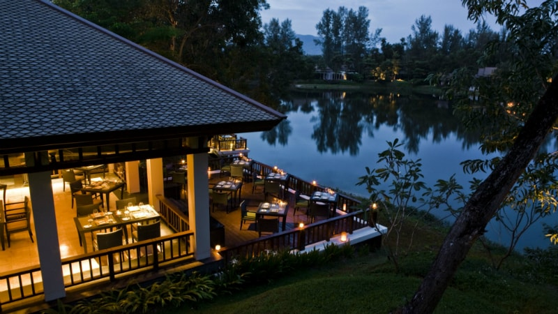 Waterfront Restaurant at Banyan Tree, Phuket