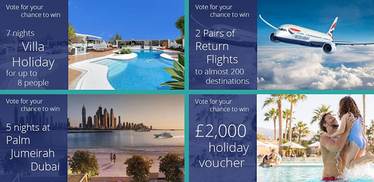 British Travel Awards Prizes - Win One of 20 Prizes | Just Fly Business