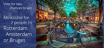 Rotterdam, Amsterdam or Bruges