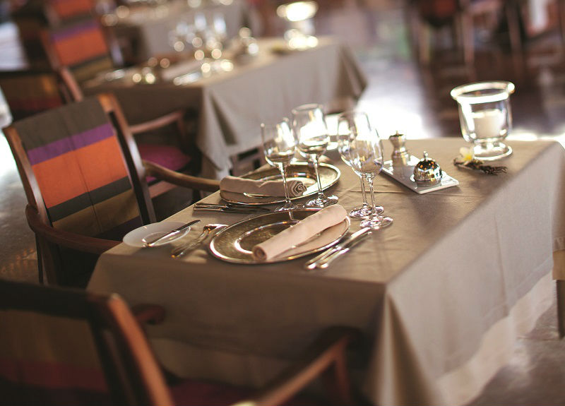 Archipel Restaurant Table - Luxury Holiday at Constance Prince Maurice | Just Fly Business