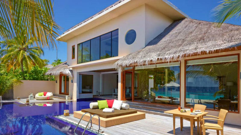 2 Bedroom Beach Pool Residence at Huvafen Fushi, Maldives