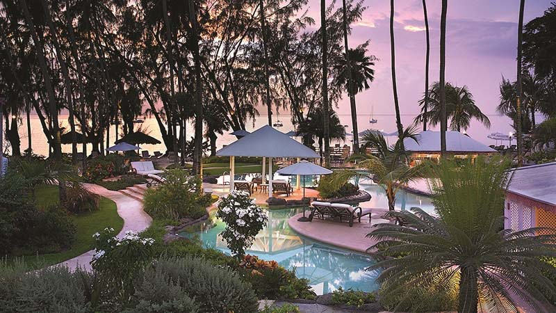 Sunset Pool View - Luxury Holiday at The Colony Club Barbados - Just Fly Business
