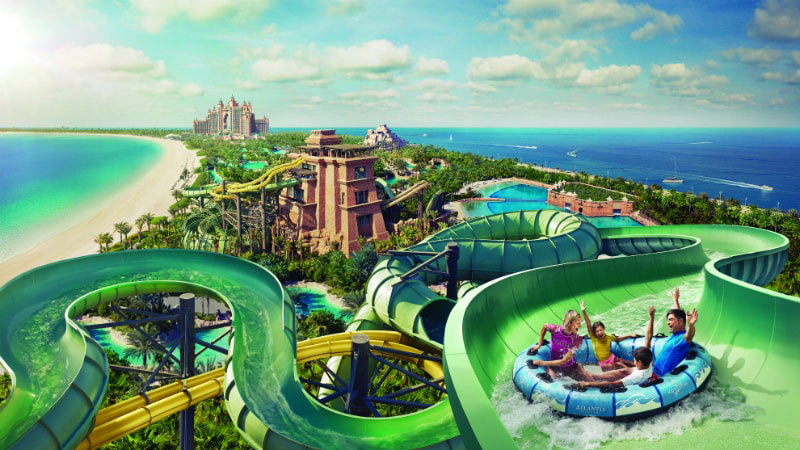 Aquaventure Waterpark - Luxury Holiday at Atlantis The Palm | Just Fly Business