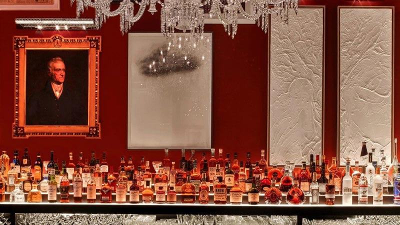 Bar - Luxury Holiday at Baccarat Hotel | Just Fly Business