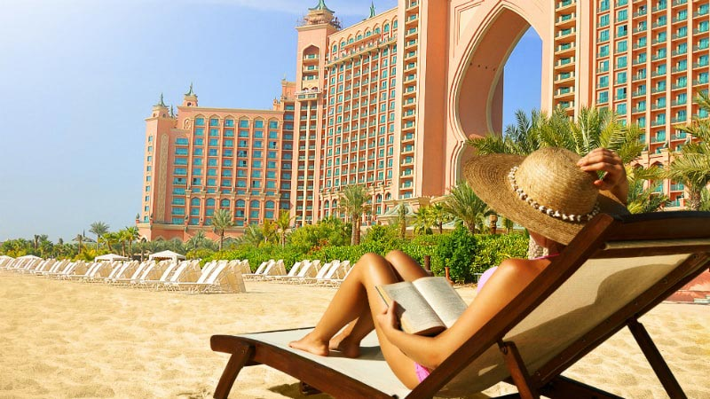 Beach - Luxury Holiday at Atlantis The Palm | Just Fly Business