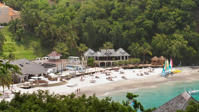 Beach - Luxury Holiday at The BodyHoliday St Lucia - Just Fly Business