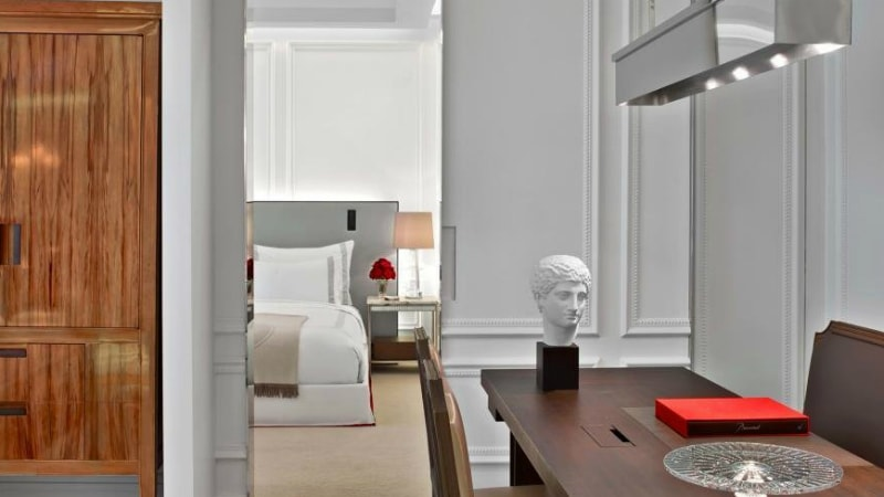 Classic Suite at Baccarat Hotel, New York