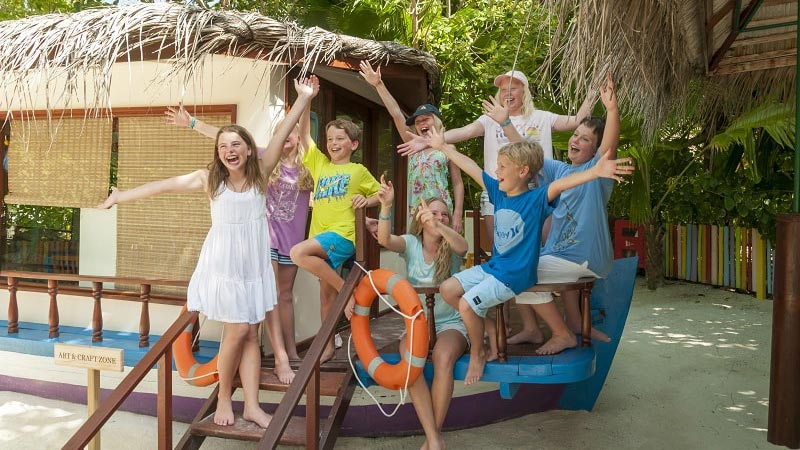 Kids Club - Luxury Holiday at Anantara Dhigu Resort Maldives - Just Fly Business