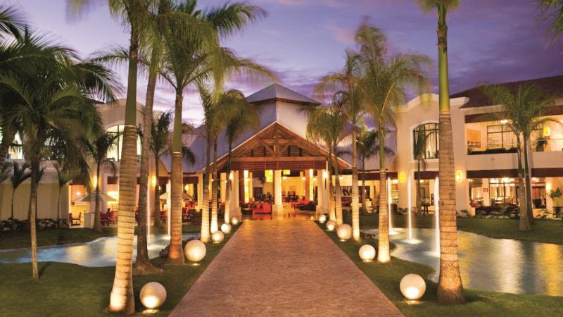 Entrance at Dreams Palm Beach Resort & Spa