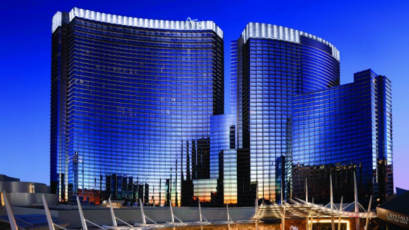 Hotel Exterior - Luxury Holiday at Aria Resort & Casino | Just Fly Business