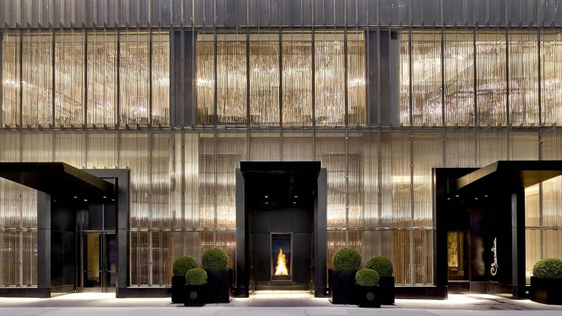Baccarat Hotel Exterior in New York
