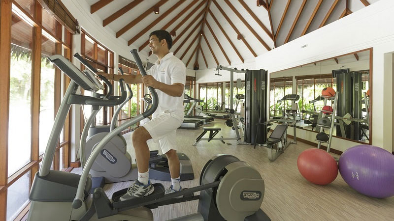 Gym - Luxury Holiday at Anatara Dhigu Resort | Just Fly Business