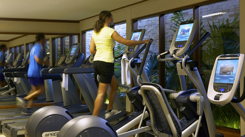 Gym - Luxury Holiday at Baros Maldives   Just Fly Business