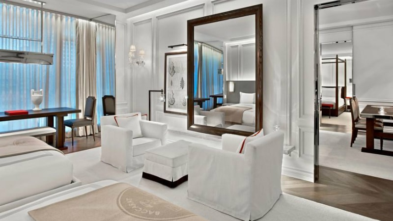 Harcourt Suite at Baccarat Hotel, New York