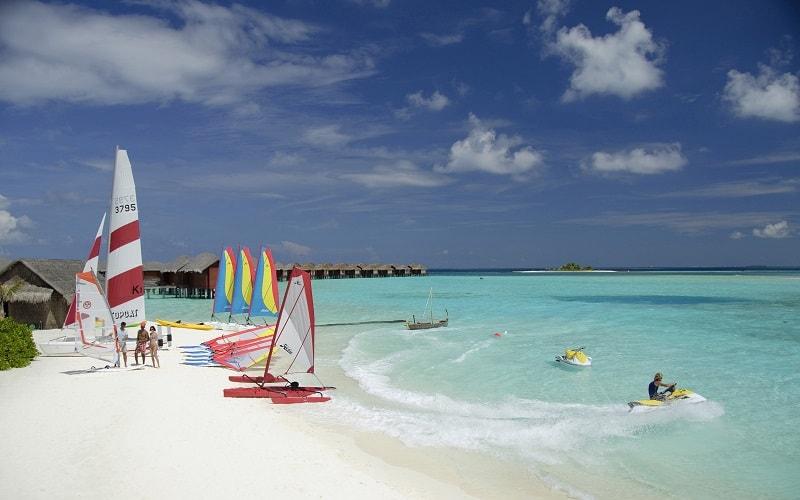 watersports on beach
