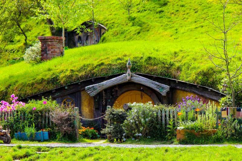 The Shire in Hobbiton, New Zealand