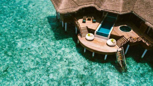 Huvafen Fushi Villa in Maldives
