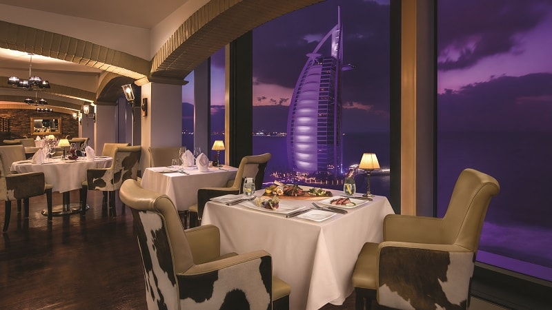 La Parilla Restaurant - Luxury Holiday at Jumeirah Beach Hotel | Just Fly Business