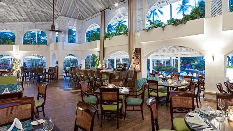 Laguna Restaurant - Luxury Holiday to The Colony Club Barbados - Just Fly Business