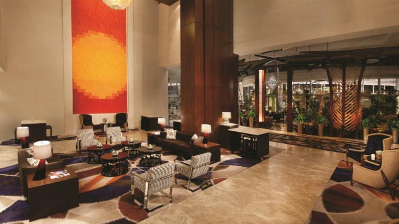 Lobby at Vdara Hotel & Spa