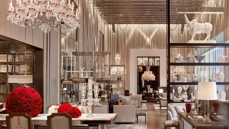 Grand Salon - Luxury Holiday at Baccarat Hotel | Just Fly Business