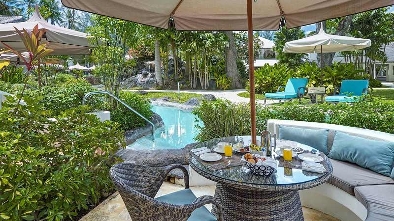Lagoon Pool - Luxury Holiday at The Colony Club Barbados - Just Fly Business