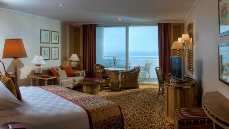 Ocean Deluxe Balcony Room at Jumeirah Beach Hotel