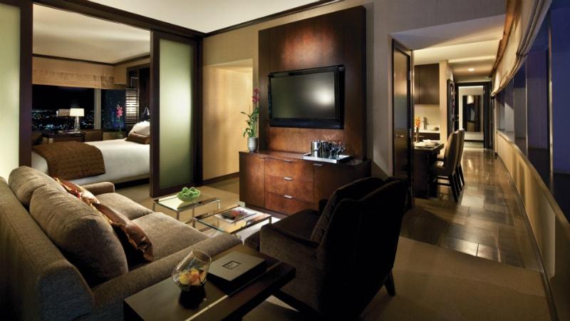 Panoramic Corner Suite at Vdara Hotel & Spa