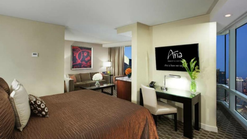 Panoramic Studio Suite at Aria Las Vegas