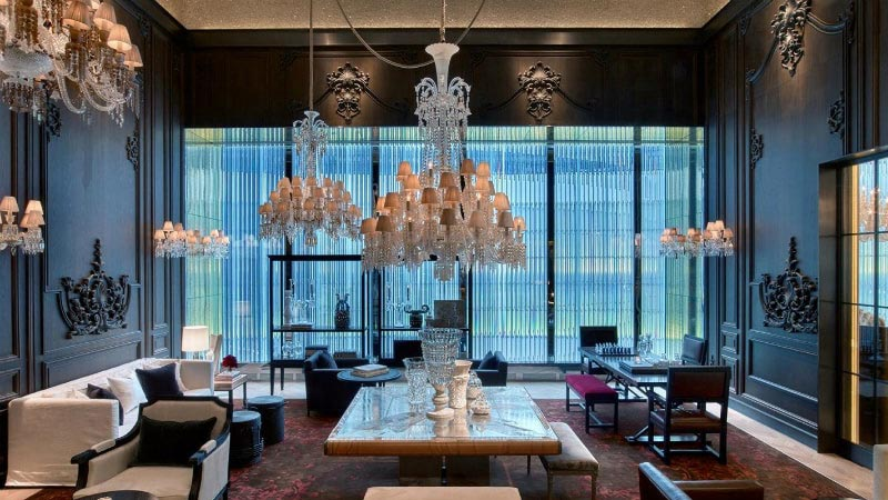 Petite Salon - Luxury Holiday at Baccarat Hotel | Just Fly Business