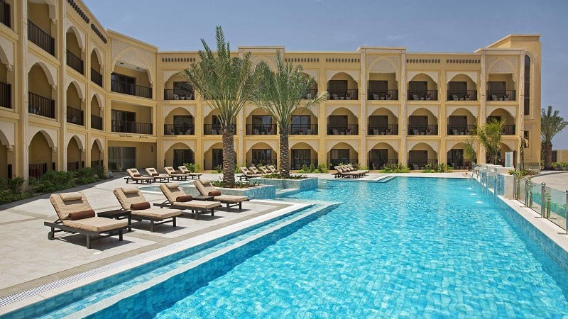 Pool Guest Room - Luxury Holiday at Doubletree Marjan Island Resort | Just Fly Business